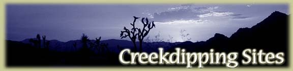 Creekdipping Sites Banner